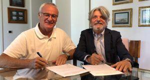 Claudio Ranieri podpisuje kontrakt z Sampdorią