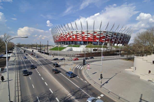 stadion w waszawie